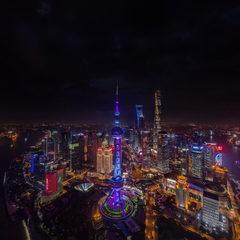 世界级城市夜景 VR漫游